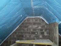 10-Dachdämmung-Rohbau